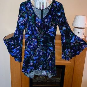 Express Paisley Print Dress Sz 4